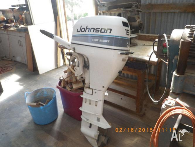 Johnson outboard 15hp 4 stroke