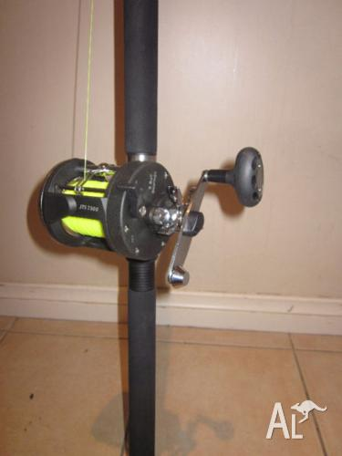 JTS 7500 REEL AND BTO 210 ROD