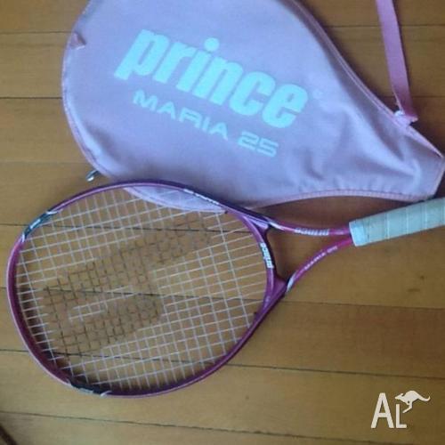 Junior Tennis Racquet pink PRINCE MARIA 25