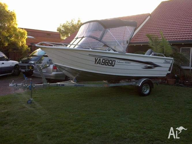Just over 1 Year old boat For Sale