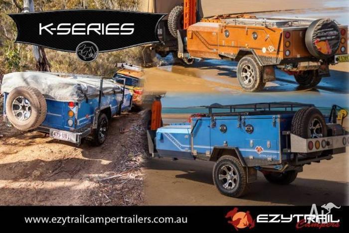 K-Series Camper Trailers – Forward Fold, Hard Floor &