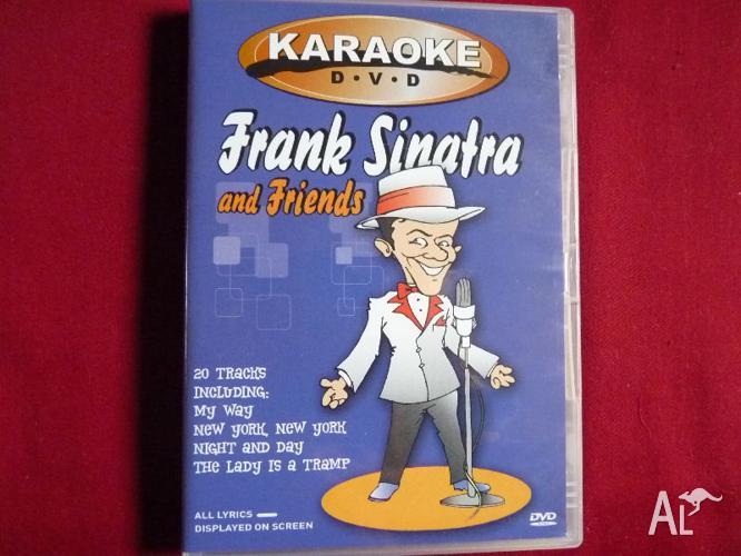 KARAOKE DVD: FRANK SINATRA AND FIRENDS