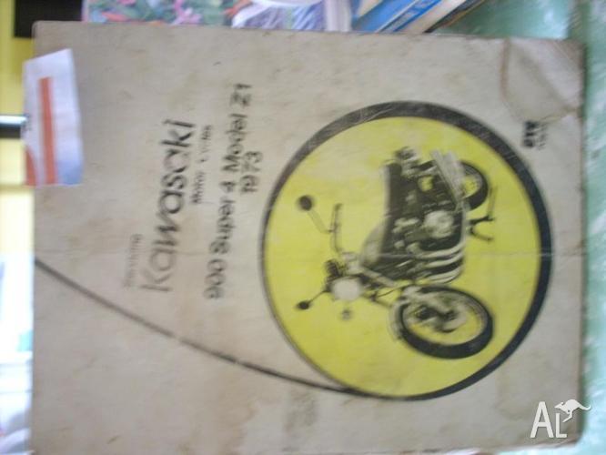kawasaki.z1 work shop manual