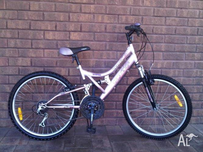 Kent Dual-Suspension mountain bike 24
