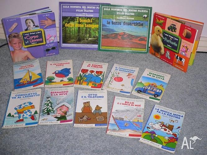 Kid's books in Italian