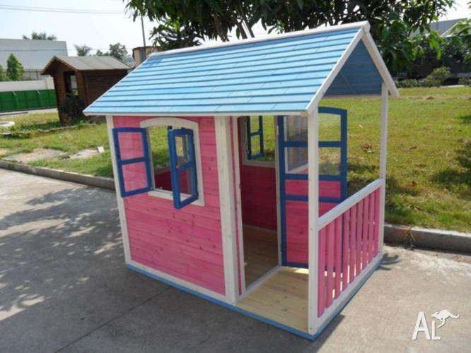 Kids Cubby House with Solid Timber (WPCW01) *On