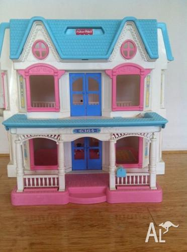 Kids Fisher Price Doll House For Sale In Atwell Western Australia