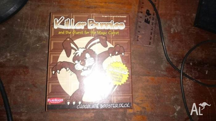 Killer Bunnies Chocolate Booster Pack (Sealed) - Rare