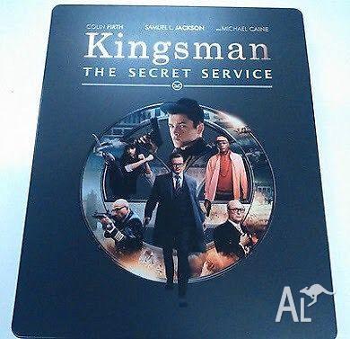 Kingsman Bluray- Steelbook