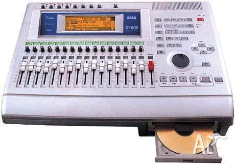 korg d1600 16 track recording console studio for sale in dog swamp western australia classified. Black Bedroom Furniture Sets. Home Design Ideas