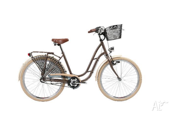 """KROSS TEMPO CLASSICO - City Bike, 18"""", 3 speed, c/w"""