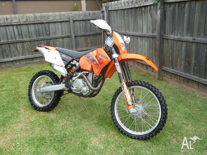 ktm 450 exc for sale in cannons creek victoria classified. Black Bedroom Furniture Sets. Home Design Ideas