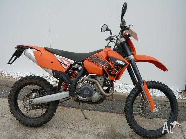 ktm 450 exc racing 450cc my06 2006 for sale in morphett vale south australia classified. Black Bedroom Furniture Sets. Home Design Ideas