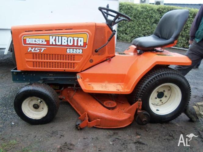 Kubota Hst G5200