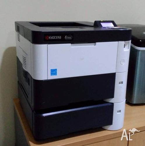 Kyocera FS2100D Mono laser printer, Duplex printing,