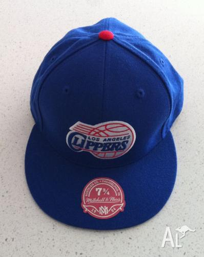 LA Clippers Mitchell & Ness fitted cap 7 3/4 (62cm)