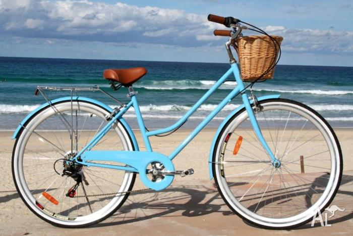 Ladies Vintage Beach Cruisers 7 speed SHIMANO Gears