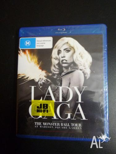 Lady Gaga, The Monster Ball Tour - Blu ray disc DVD