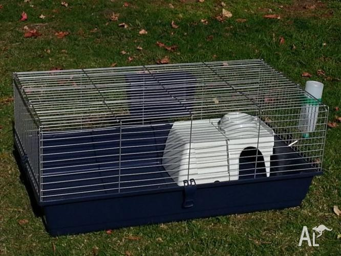 LARGE 101CM RABBIT GUINEA PIG CAGE HUTCH BRAND NEW