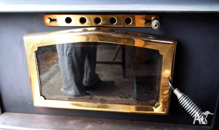 Large Freestanding Woodstove in Excellent Condition