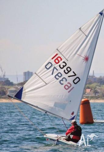 Laser Radial 163970 and dolly