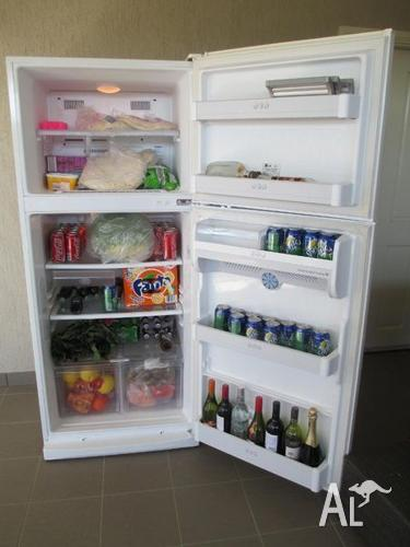 late model large LG fridge freezer 490L can deliver for Sale in