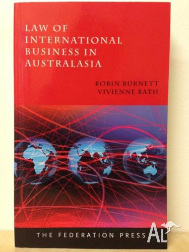 Law of International Business in Australasia by