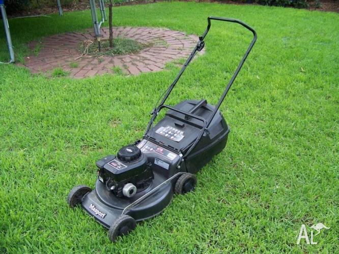 Lawn Mower On A Hill : Lawn mower massport morrison catch mulch for