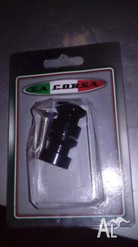 LED indicators & swingarm spools