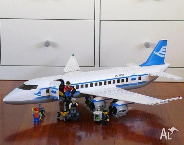 Lego City Plane 7893 Instructions