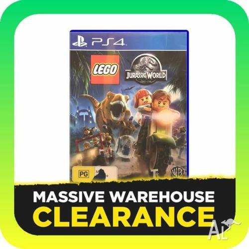 LEGO Jurassic World (PS4, PlayStation 4)