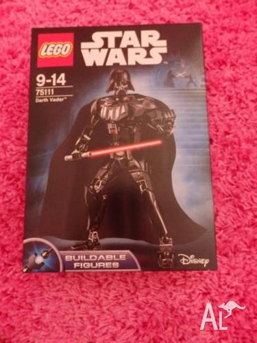 LEGO STAR WARS DARTH VADER TS111 BUILDABLE FIGURINE