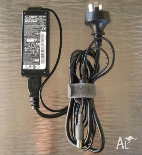 LENOVO 65W POWER ADAPTER FOR THINKPAD, IDEAPAD - 20V