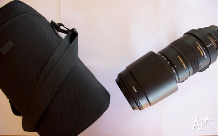 Lens 150-500mm f/5-6.3 APO DG OS HSM Sigma - Canon