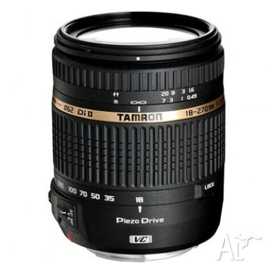 Lens Canon Mount - Tamron AF 18-270mm f/3.5-6.3 Di-II