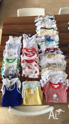 Less than $1 per item!!! baby clothes size 0000 bundle