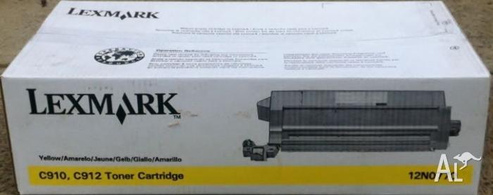 Lexmark 12NO770 C910 C912 Yellow Toner Cartridge