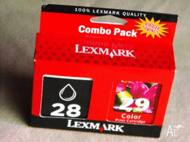 Lexmark Combo Pack: contains one each #28 black & #29
