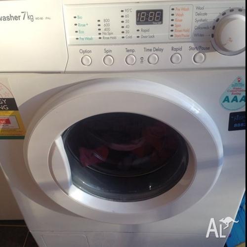 electrolux washing machine 7kg front loader manual