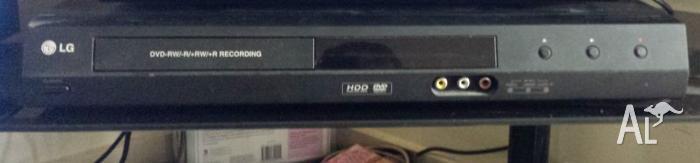 LG DVD Recorder.