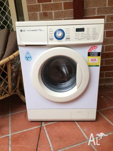 LG Intellowasher 7.5Kg front load washer