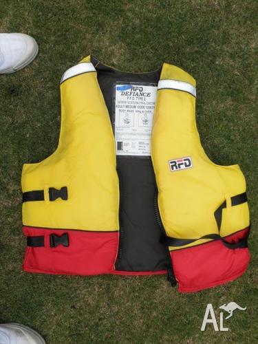 Life jackets sailing