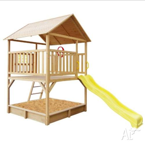Lifespan Stanford Cubby House Set with Slide