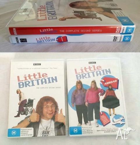 Little Britain DVDs