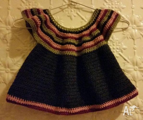 Little Girls Crochet Top