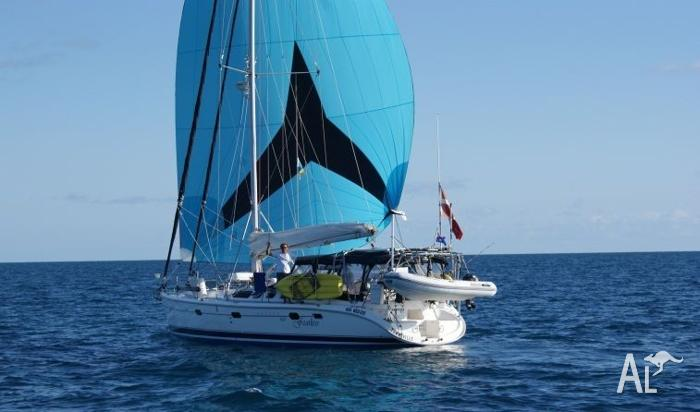 Live the Dream! This Hunter 460 is a world cruiser