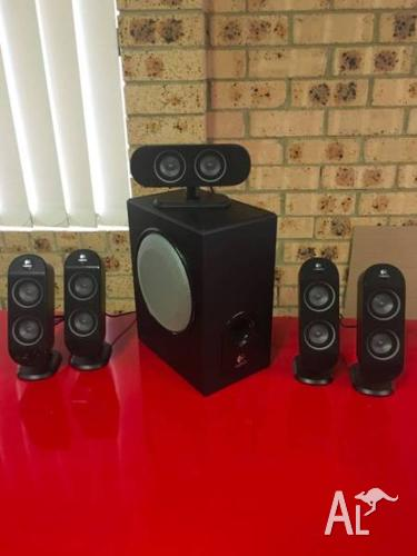 Logitech Computer Speakers - X 530 5.1 Surround Sound