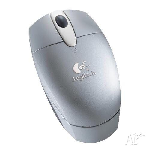 Logitech Cordless Optical Mouse Silver by Logitech