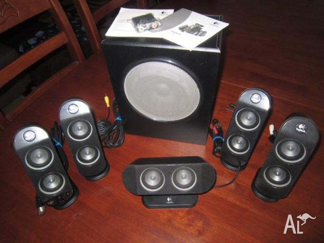 Logitech X-530 5.1 channel surround sound