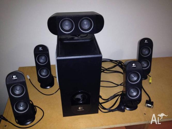 Logitech X-530 5.1 surround speakers